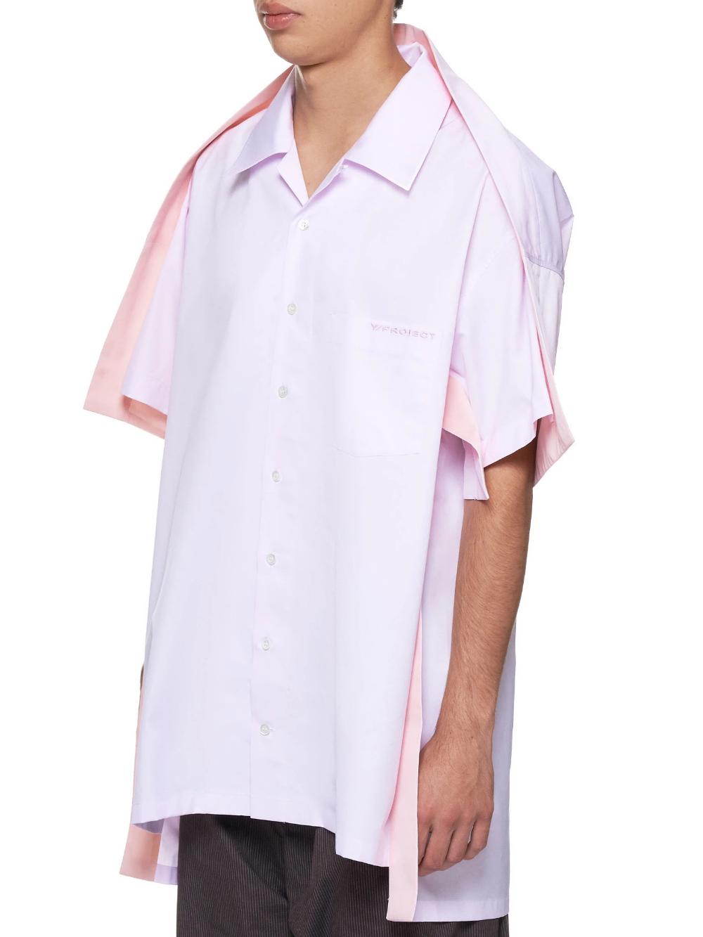 Light Pink Bowling Shirt