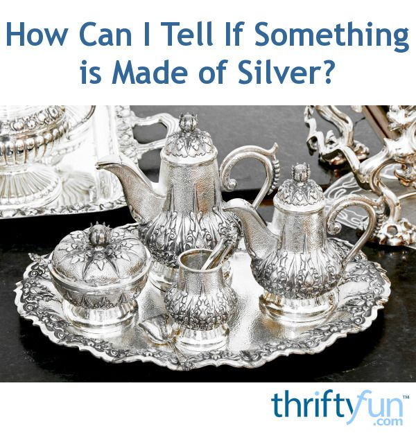 How Can I Tell If Something Is Made Of Silver Chunky Silver Necklace Silver Jewellery Indian Silver Jewellery Sets