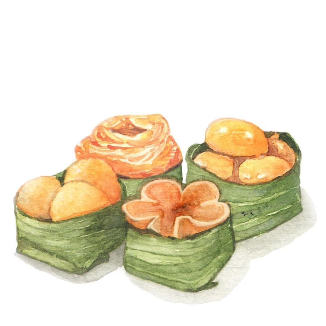 Thai Desserts From Eggyolks ศ ลปะเก ยวก บอาหาร ของหวานชาว