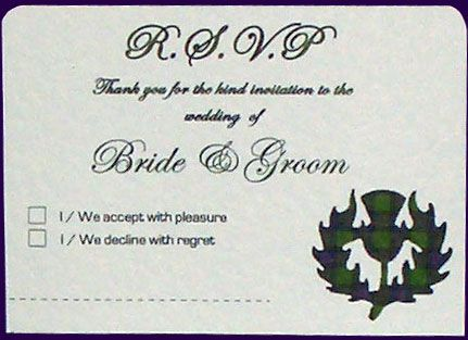1000 images about Wedding RSVP Invitation Card Ideas on – Sample Rsvp Wedding Cards