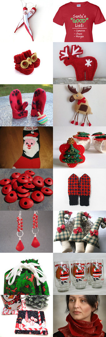 For Santa's Good List by Kathy Lindemer on Etsy--Pinned with TreasuryPin.com