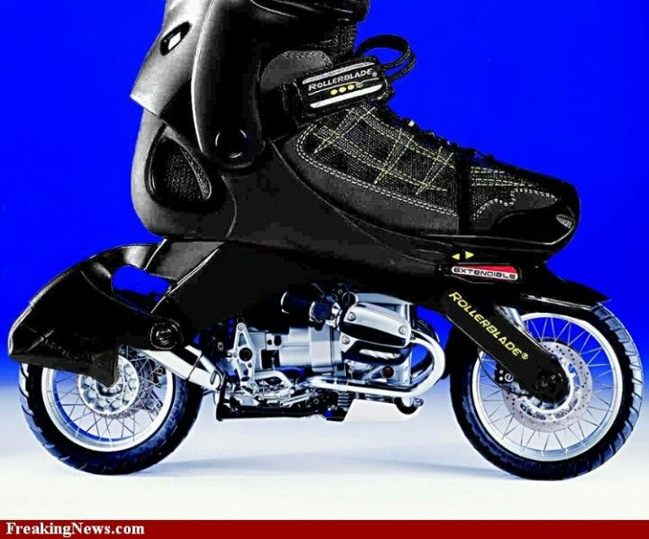 I Will Make The First Functional Motor Roller Blades Inline