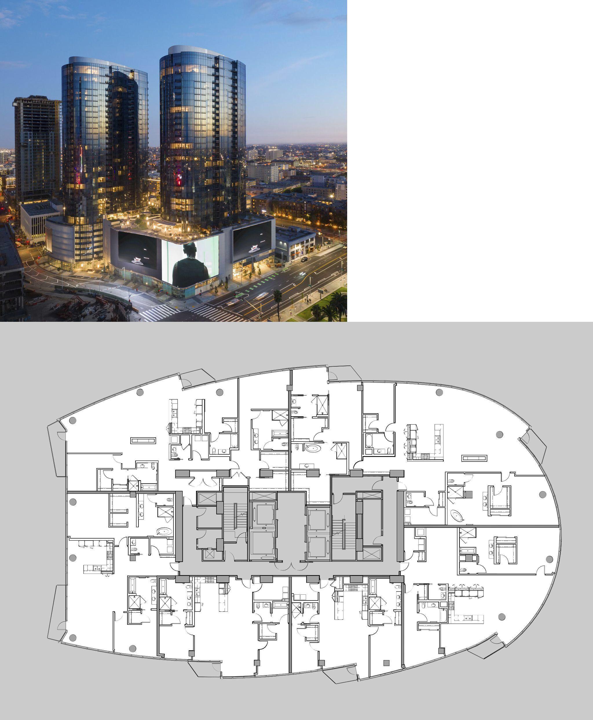 Circa LA Apartments In Downtown Los Angeles, CA. West