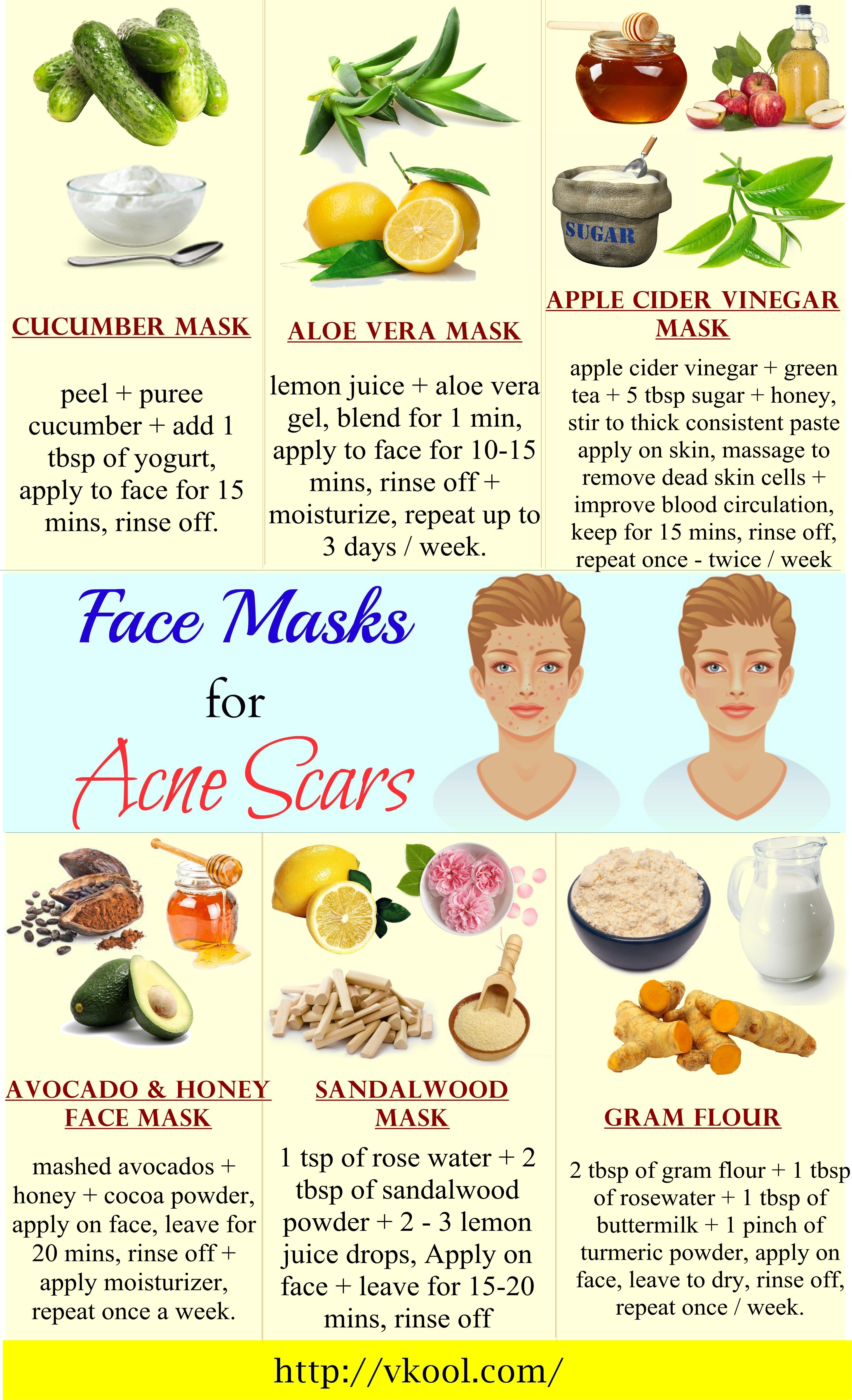Photo of 16 Natural homemade face masks for acne scars