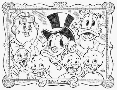 ducktales coloring pages Ducktales Coloring Pages | Preschool | Colouring pages, Cartoon  ducktales coloring pages