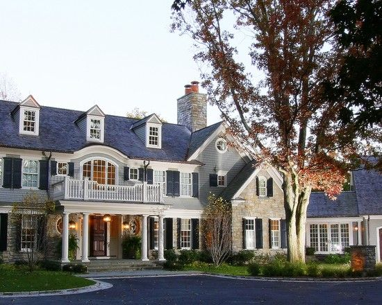 Traditional Exterior Design, Pictures, Remodel, Decor And