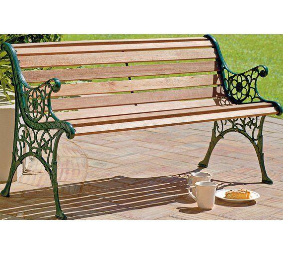 Buy Home Hardwood 12 Slat Chelsea Bench At Argos Co Uk Visit Argos Co Uk To Shop Online For Garden Benches And Arbours Garden F Garden Bench Bench Argos Home