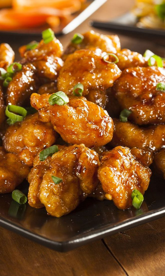 Panda express orange chicken copycat copy cat recipes pinterest i know i do and that is why i have found one of the best slow cooker orange chicken recipes forumfinder Images