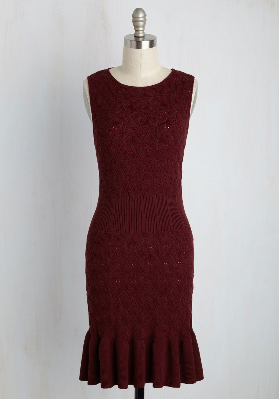 It Doesn't Get any Sweater than This Dress, #ModCloth