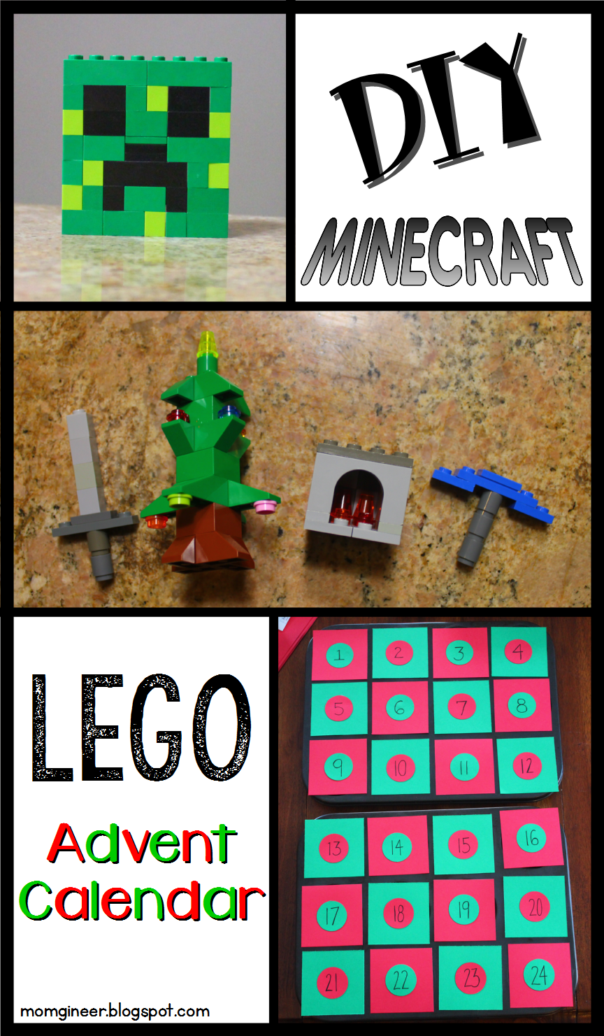 Christmas Calendar Minecraft Download : Minecraft lego advent calendar