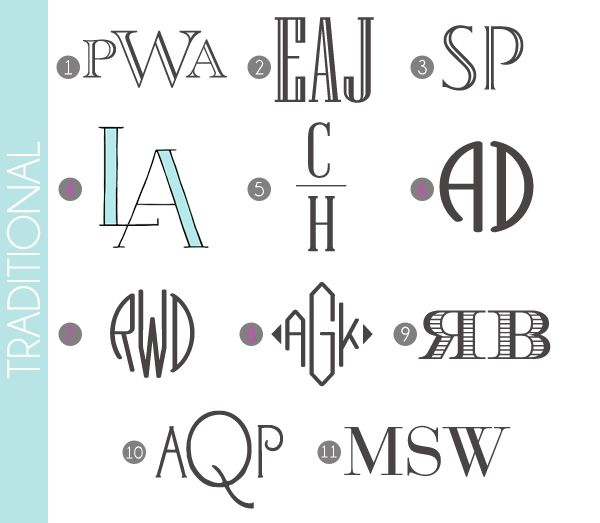 classic monograms made easy traditional fonts free printables