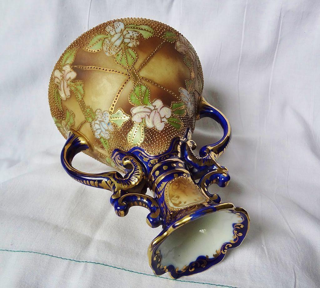 Nippon Vase Handpainted