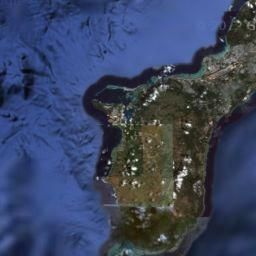 Online map Guam, Mariana Islands, United States - street, area and ...