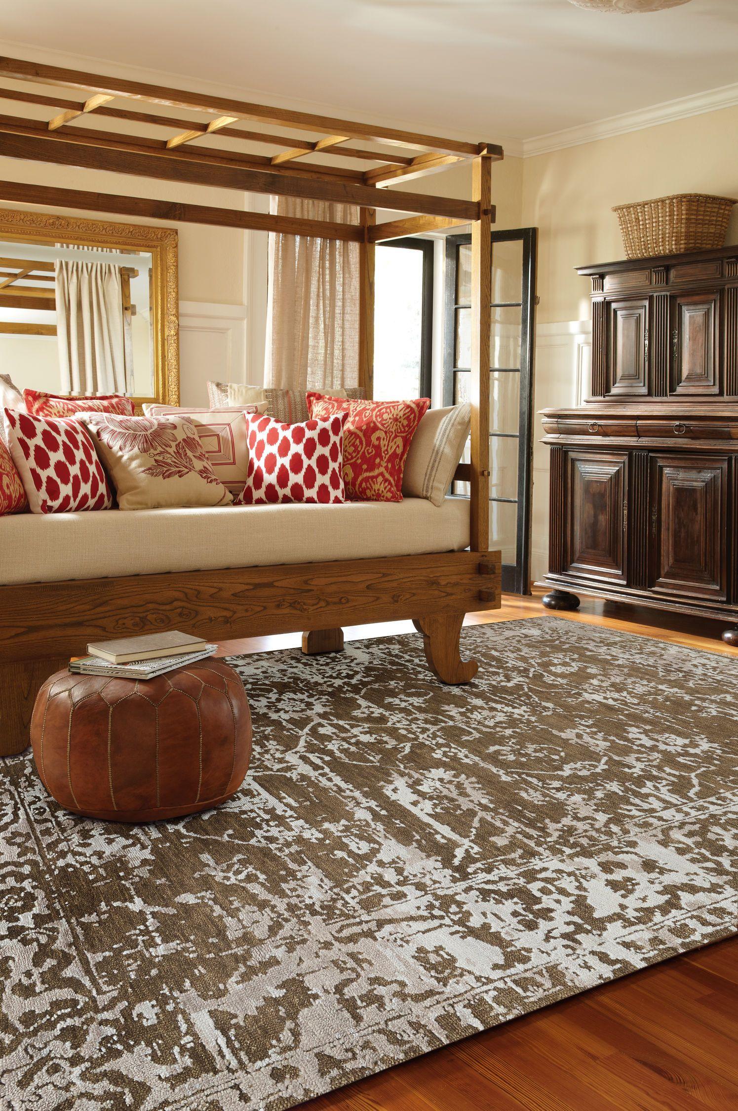 "Jain Rug Color Tan; Size 5'6"" x 8'6"" Globe furniture"