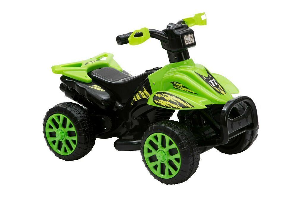 Kids Electric ATV Ride-On Quad 4-Wheeler Toddler Outdoor Play Terrain Drive