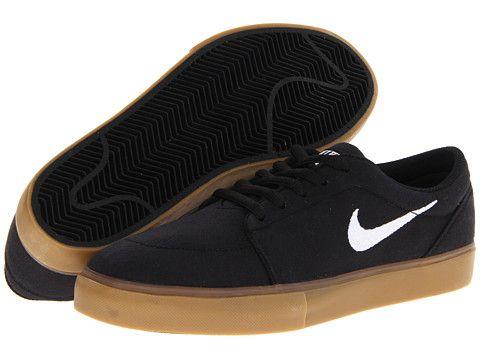Nike SB Satire Canvas Black/Gum Light Brown/White - Zappos.com Free