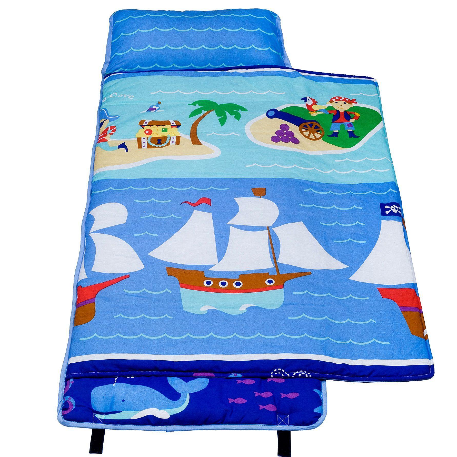 "Pirates 1.5"" Thick Folding Nap Mat Kids nap mats, Kids"
