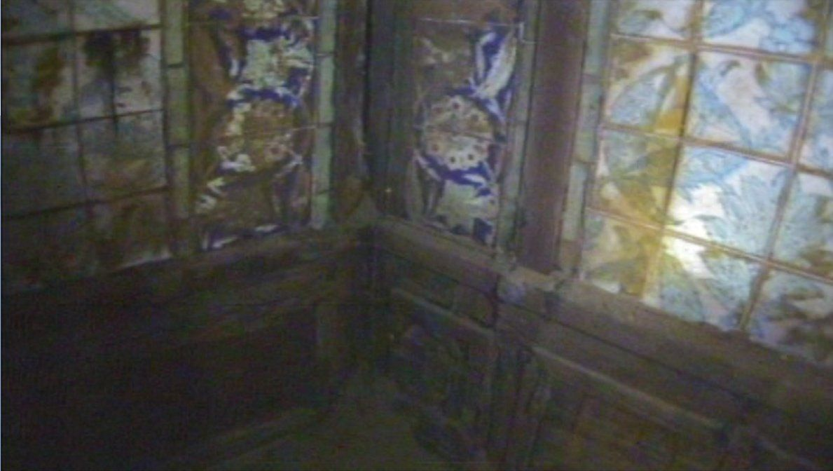 Close up of tile in the titanics turkish bath most well preserved a close up of tile in the titanics turkish bath most well preserved room in titanic shipwreck because it was finished with teak wood ceramic tile dailygadgetfo Images