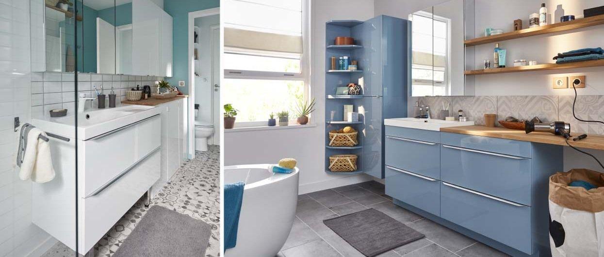 Les meubles de rangement imandra parfaits pour toutes for Armoire salle de bain noir