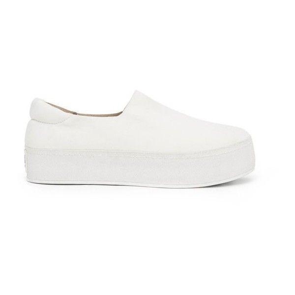 d7b2a29cefab Opening Ceremony SlipOn Platform Sneakers (£145) ❤ liked on Polyvore  featuring shoes