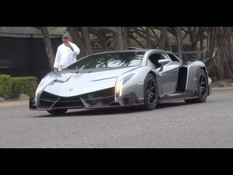 $4M #Lamborghini #VENENO Driving & Sound Clips! - YouTube