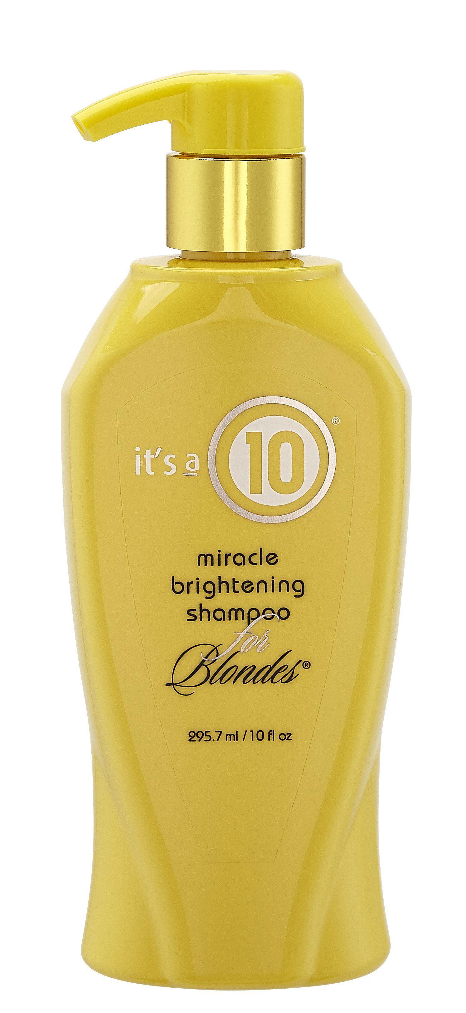 Miracle Brightening Blonde Shampoo Blonde hair care