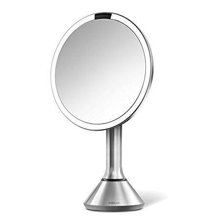 Simplehuman 8 Inch Sensor Mirror Lighted Makeup Vanity Mirror 5x
