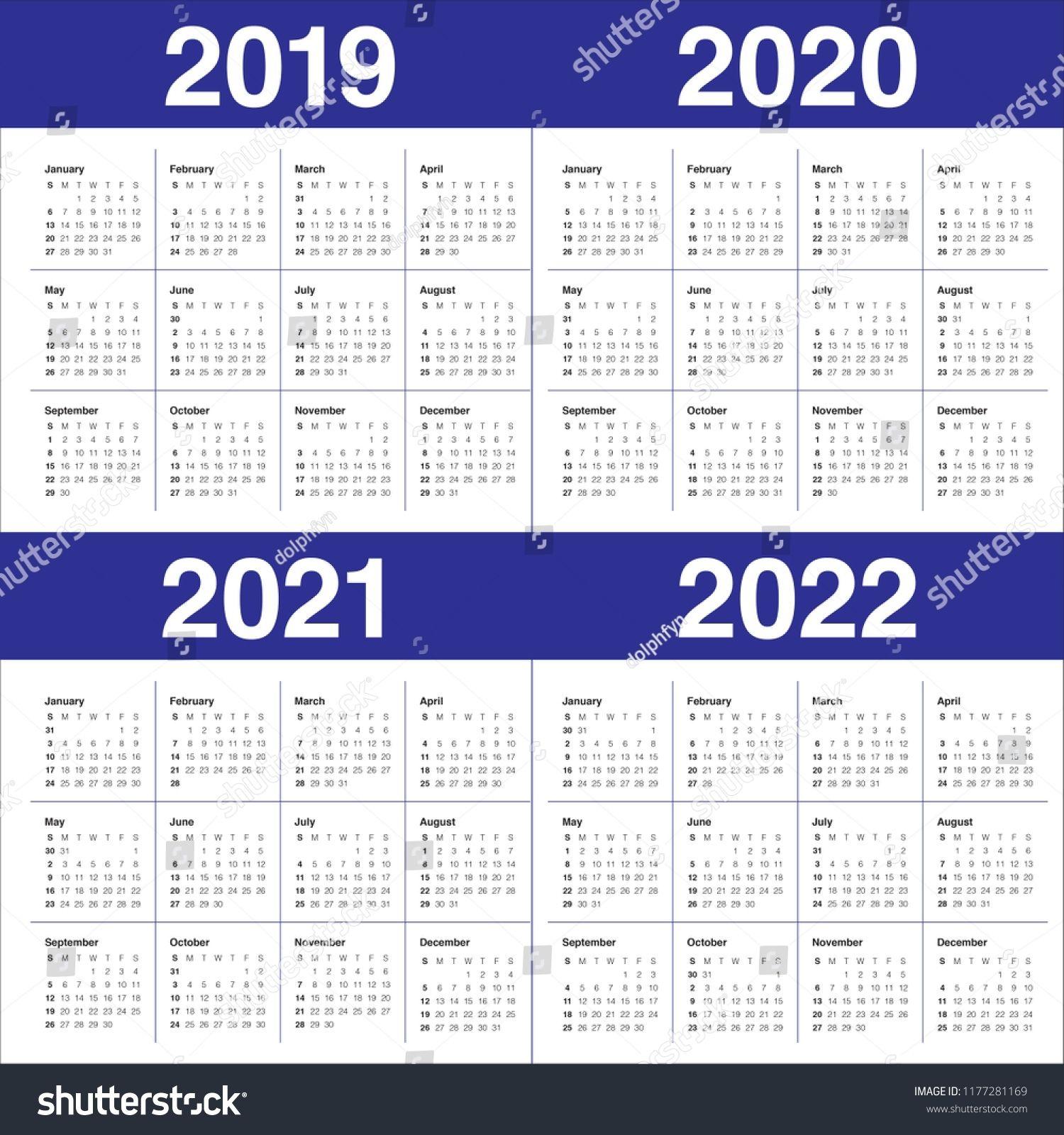 Calendar Print Out 2019 2020 2021 2022 Di 2020