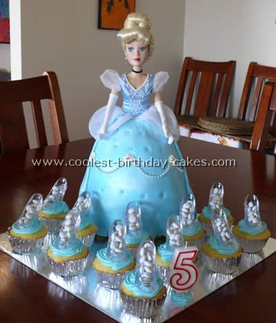 Coolest Cinderella Birthday Cakes Birthday cakes Cup cakes and