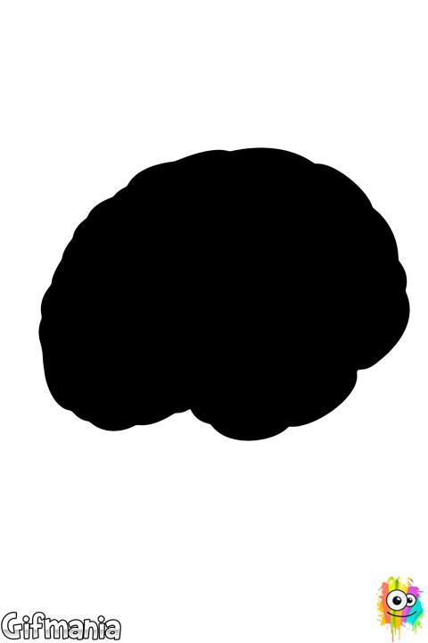 Cerebro En 2019 Cerebro Para Colorear Cerebro Ilustracion