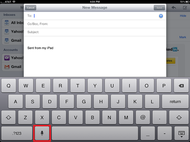 Did You Know You Can Dictate to Your iPhone and iPad