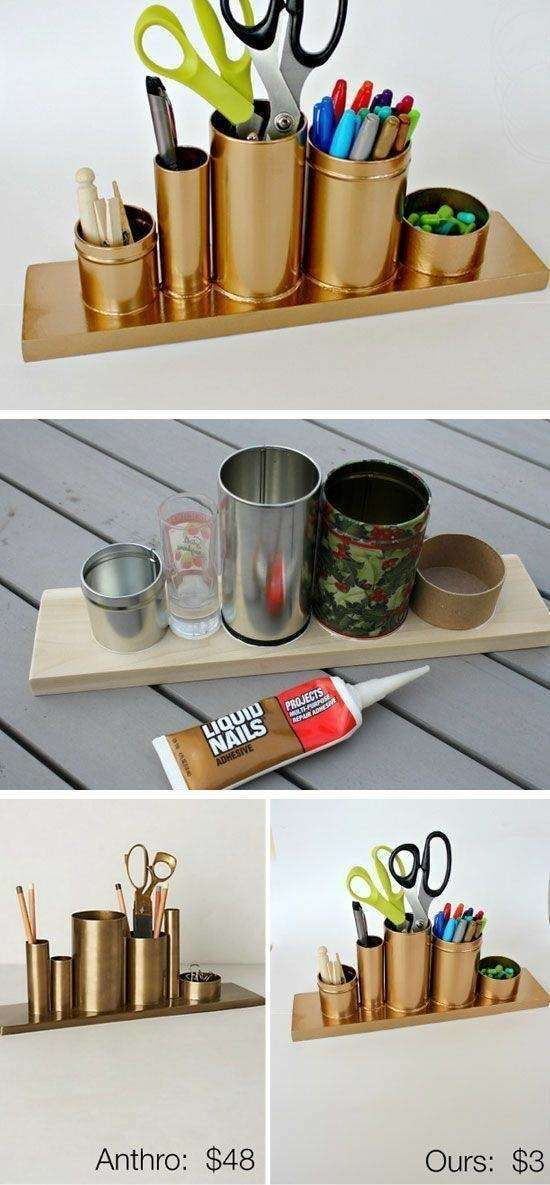 10 Fabulous DIY Ideas For The Home Office Desk