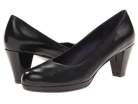 Womens Shoes Vaneli Laurice Black Nappa/Black Patent