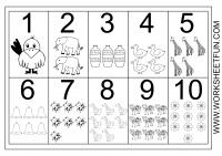 Imagen Numero Grafico 1 10 Numeros Para Ninos Dibujos Con