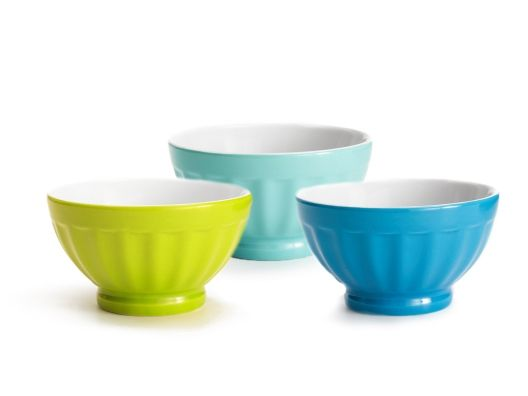 Love the colors of these bowls