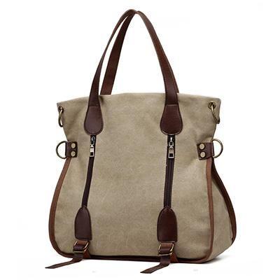 63ceae454c4d Large Captain Canvas Tote Bag  LeatherHandbagsKateSpade  canvashandbags