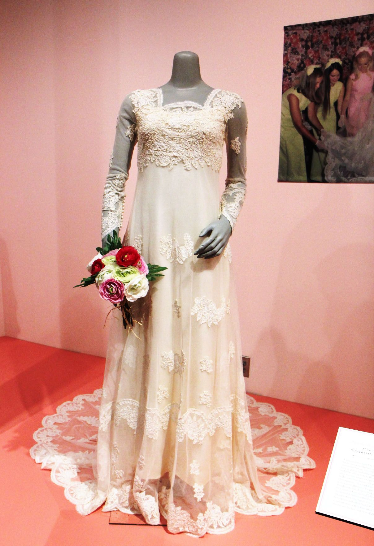 Pop culture often influences wedding fashion. This wedding gown on ...