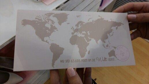 Einladungskarte Boarding
