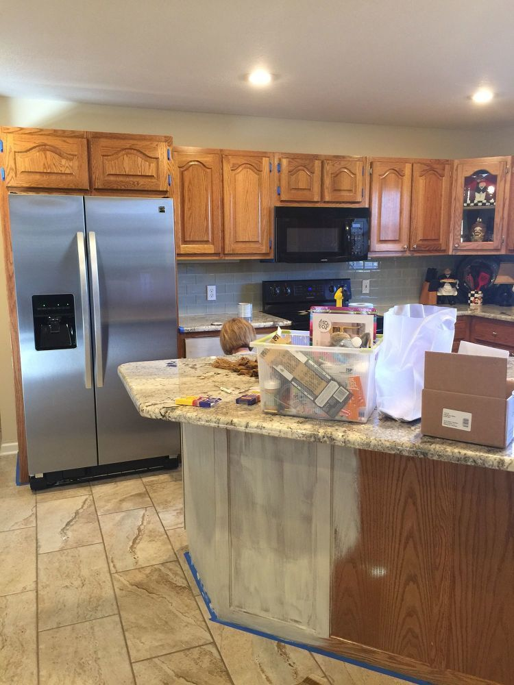 Best How To Paint Kitchen Cabinets The Perfect White Painting 400 x 300