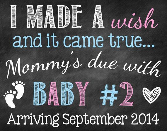 Only Child Announcement // Big Sister by ChalkingItUpBoards | Pregnancy Announcement Photo Prop