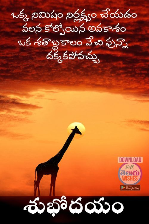 Telugu Inspirational Good Morning Wishes And Quotes Oye Quotes