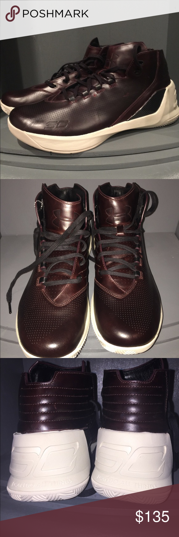 d5c6a06fb212 Under Armour Curry 3s Limited Edition 1299661-945 Under Armour Curry 3 Lux  Limited Edition Oxblood Leather 1299661-945. New without box Under Armour  Shoes ...