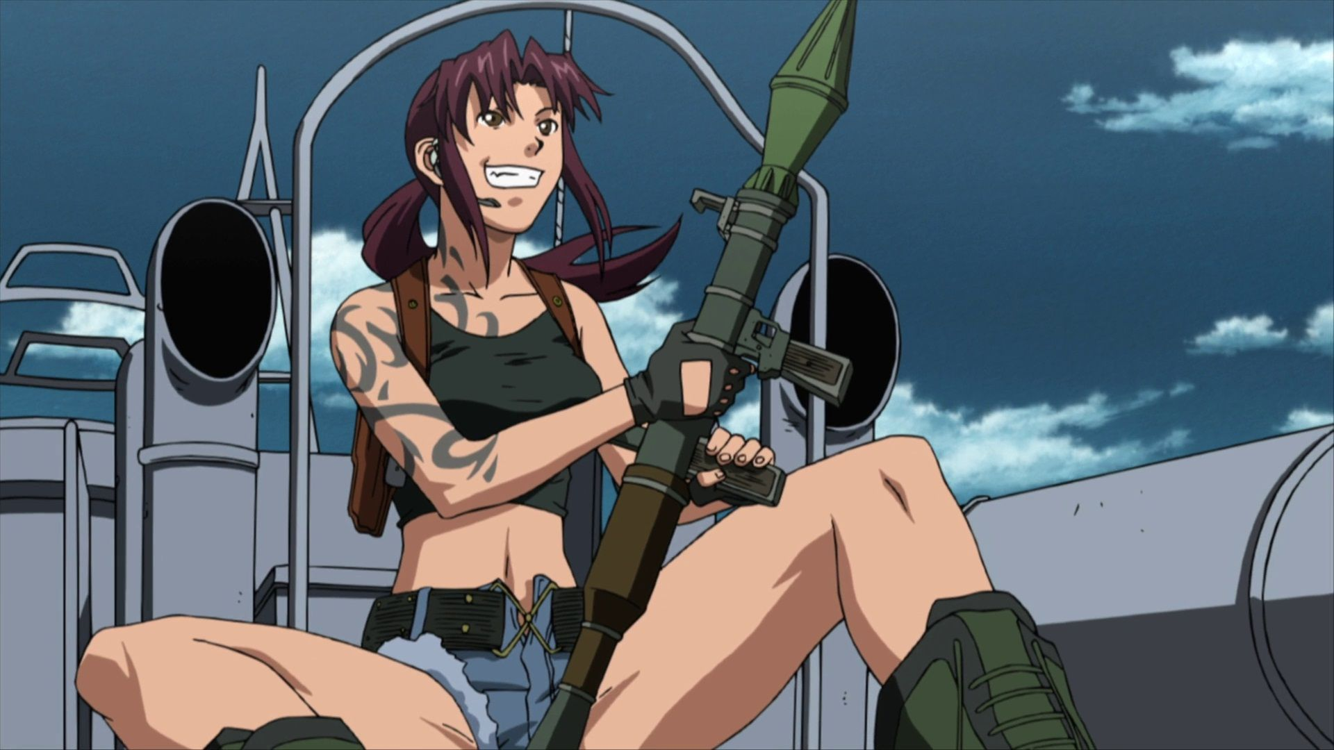 Image result for revy black lagoon