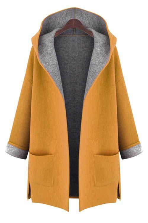 Image result for grey felt jacket with blue inside | Style ...