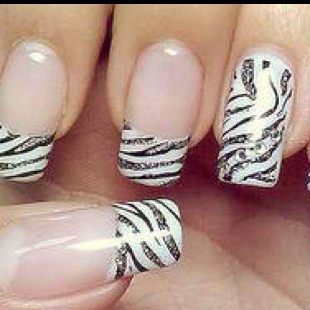 Nail Art Zebra Stripes: Pin By Briann Wilson On NAAAAAAiLS