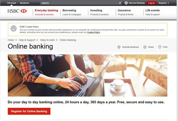 Hsbc Online Banking Hsbc Bank With Images Online Banking Banking Investing