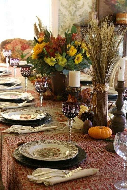 30 coole Ideen für Tischdeko im Herbst #herbstdekotisch