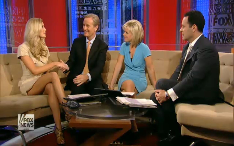 Fox News Anchor Upskirt