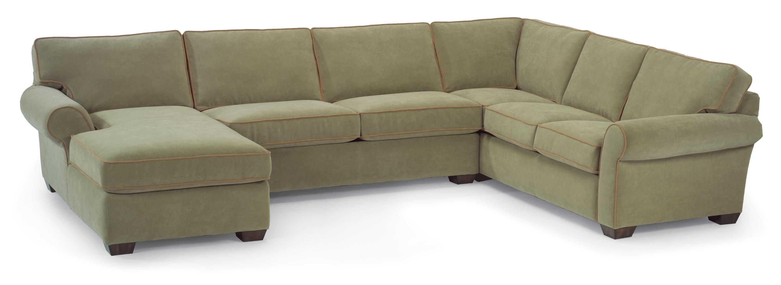Vail Stationary Sectional Sofa by Flexsteel love love love