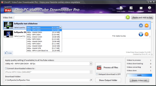 ChrisPC VideoTube Downloader Pro 9 12 23 free Serial key